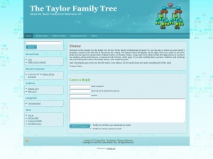 The Taylor Family Tree